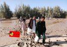 امداد رسانی و توزیع اقلام غذایی بین سیل زده ها توسط سپاه شهرستان ریگان