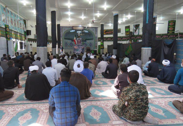 برگزاری نماز جمعه در شهرستان ریگان به امامت حجت الاسلام رضا زاده