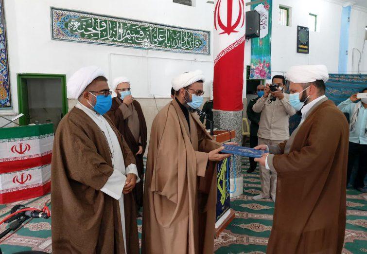 مراسم تکریم و معارفه مسئول دفتر نمایندگی ولی فقیه در سپاه شهرستان ریگان