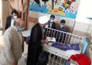 عیادت خادمیاران رضوی و امام جمعه از بیماران بستری در بیمارستان ریگان