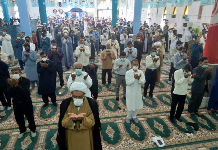 اقامه نماز جمعه شهرستان ریگان، ۱۰ اردیبهشت ۱۴۰۰