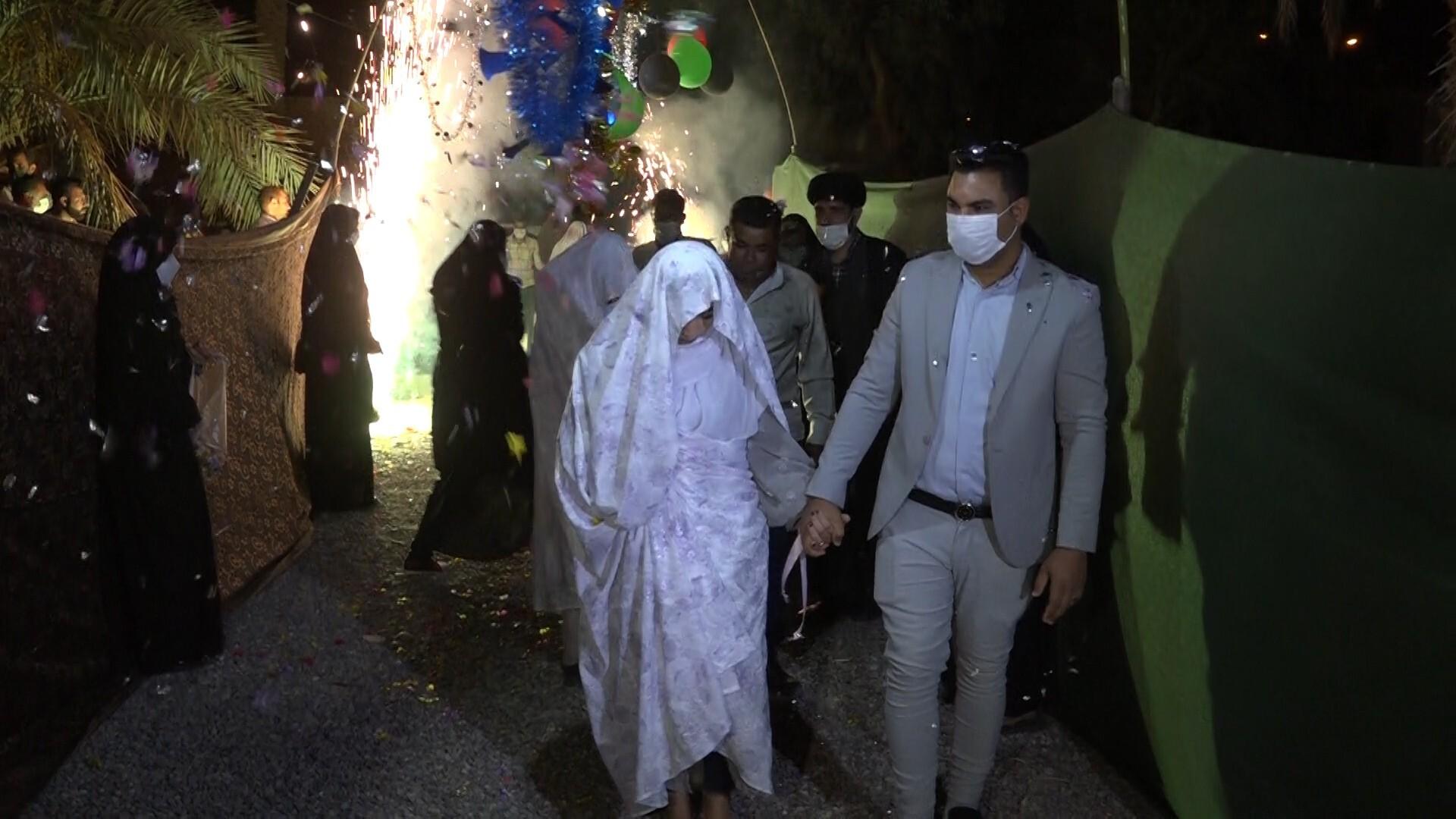 برگزاری جشن ازدواج آسان ۲۰ زوج جوان در فهرج