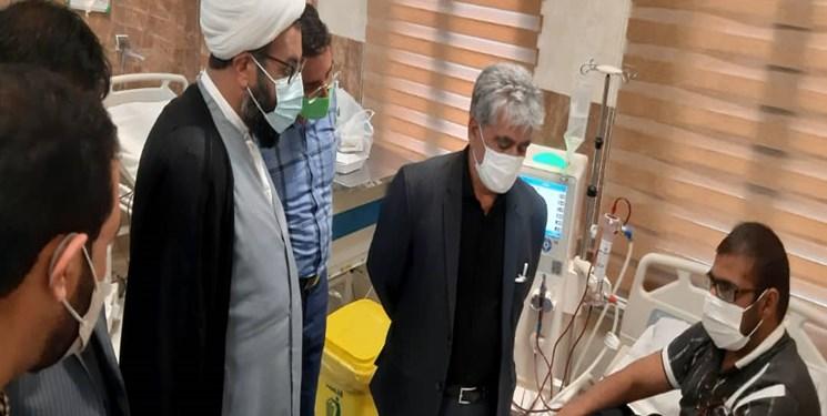 تجهیز مرکز دیالیز ریگان به همت مرکز درمان بیماریهای خاص کرمان