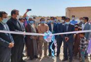 دبستان ۳ کلاسه خیرساز در روستای بمبویان ریگان افتتاح شد